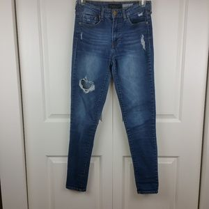 Aeropostale Distressed High Waisted Jegging 4